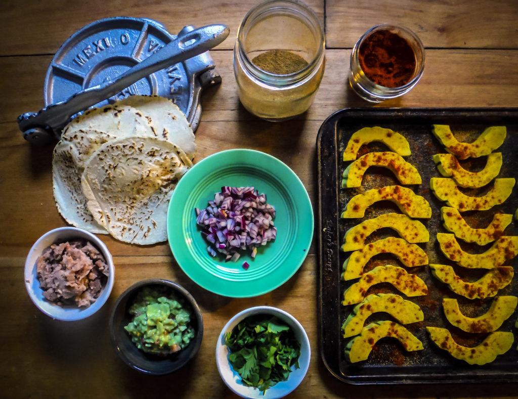 Delicata Tacos
