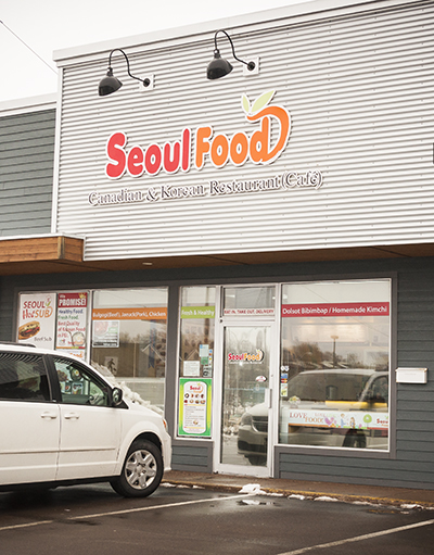 Exterior shot of Seoul Food restaurant