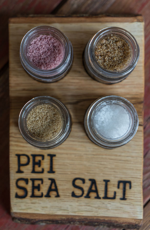 Sea salt infused with PEI flavours//Photo Credit: Evan Ceretti